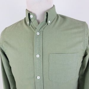J Crew Oxford Small Slim Fit Shirt Button Down L/S